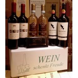 """Wein schenkt Freude Karton """"Italien trocken"""""""