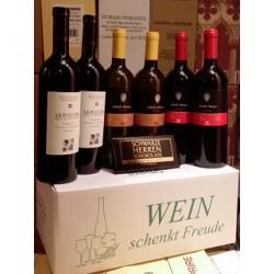"""Wein schenkt Freude Karton """"Italien fruchtig"""""""